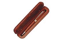 ケース入り 木軸ボールペン