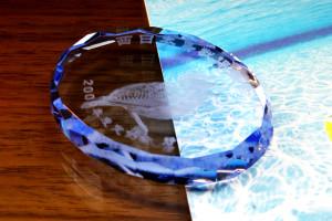 ラウンドカット楕円(ブルー)